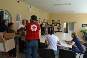 Red Cross leaders