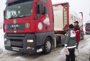 Bulgarian Red Cross Take Measures against the Cold Weather