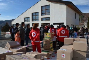 Humanitarian assistance to refugees in Bulgaria