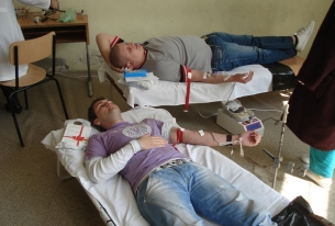 Autumn blood donation campaign began