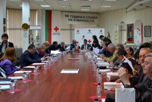Macedonian Red Cross delegation