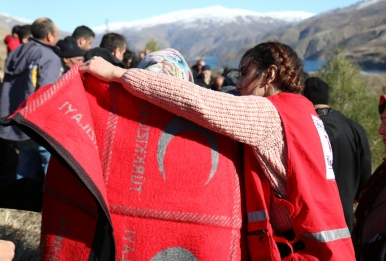 Red Crescent delivers urgent life-saving assistance following large earthquake in Turkey