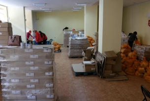 distribution of food products on operational programme of EC In sofia